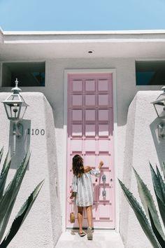 Pink Door | Collage Vintage