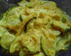 COURGETTES LAIT DE COCO ET CURRY                                                                                                                                                                                 Plus