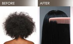 Brazilian Blowout Japanese straightening & Black Hair Relaxers: What is the dif - Hair Loss Treatment Brazilian Blowout, Brazilian Hair Bundles, Japanese Hair Straightening, Blonde Hair Care, Black Hair Care, Best Natural Hair Products, Natural Hair Styles, Black Hair Styles Relaxed