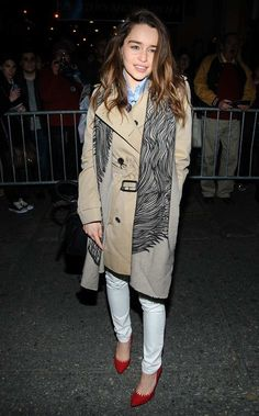 Emilia Clarke in Broadway, New York