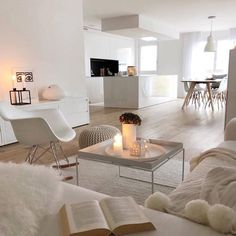GET COZY – Was auch immer pro ein kuscheliges Zuhause! Unser Geheimrezept pro 100 Proze… GET COZY – Whatever pro a cuddly home! Our secret recipe per 100 processes … room Living Room White, White Rooms, Home Living Room, Living Room Designs, Living Room Decor, Decor Room, Gym Decor, Cozy Living, Boho Decor