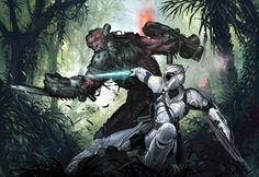 Cyborg mayhem by BenWootten on DeviantArt