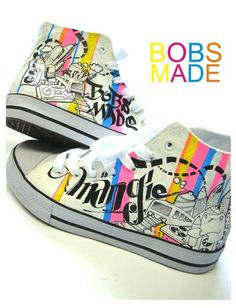 Tutorial for DIY Shoe Design (what fun for kids!)
