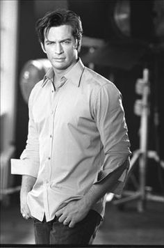 I think it's his voice that makes me want him :-) Harry Connick Jr.