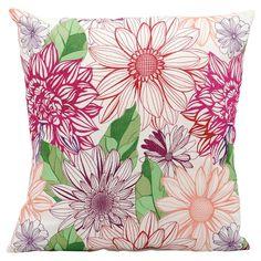 Pretty Floral Pillow