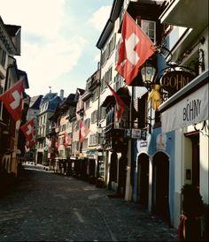 Old town in zürich.