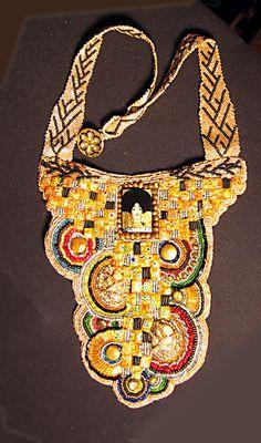 Beautiful Klimt necklace