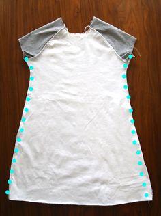 El modelo de costura libre y tutorial para este lindo juego de las muchachas del vestido
