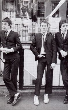 youngseoulrebels: The Jam in San Francisco's Chinatown 1977 Uk Music, Music Icon, It Icons, The Style Council, Paul Weller, The Jam Band, Skinhead, Youth Culture, Mod Fashion
