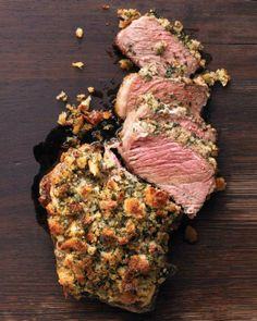 Rib Roast with Herb Crust Recipe