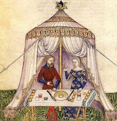 Manuscript BNF Français 343 Queste del Saint Graal Tristan de Léonois Dating 1380-1385 From Milan, Italy Holding Institution Bibliothèque Nationale