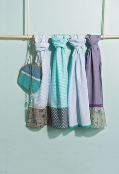#DIY - Des jolis foulards d'été !
