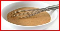 w w recipes: Skinny Kitchen's Thousand Island Dressing (21 calories a tablespoon) SmartPoints 1