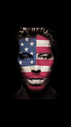 Shaun White , Sochi 2014- Great Make up artist#fashion #skifashion #helmethuggers