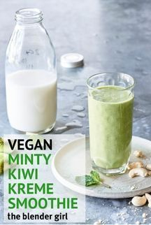 creamy mint kiwi spinach smoothie from The Blender Girl Smoothies book is v . This creamy mint kiwi spinach smoothie from The Blender Girl Smoothies book is v .,This creamy mint kiwi spinach smoothie from The Blender Girl Smoothies book is v . Kiwi Smoothie, Healthy Green Smoothies, Coconut Smoothie, Easy Smoothies, Green Smoothie Recipes, Smoothie Cleanse, Healthy Detox, Juice Recipes, Green Smoothie Girl