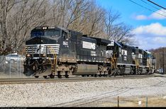 RailPictures.Net Photo: NS 9643 Norfolk Southern GE C40-9W (Dash 9-40CW) at Bluefield, Virginia by Sid Vaught
