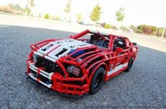 Ford Mustang Lego Build 02