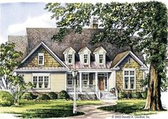 Eplans Craftsman House Plan - Outstanding Curb Appeal - 2466 Square Feet and 3 Bedrooms from Eplans - House Plan Code HWEPL08619