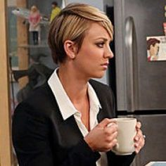 'Big Bang Theory' star Kaley Cuoco explains why she chopped off her long locks | Inside TV | EW.com