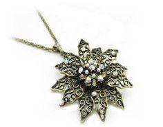 Fashion Vintage  Long Necklace Design Necklace