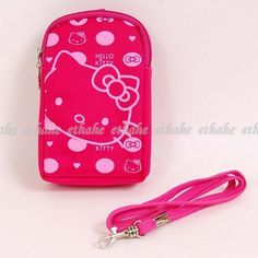 Hello Kitty Coin Purse Key Holder w/ Strap Rose « Holiday Adds
