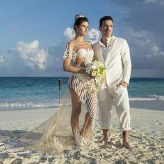 Isabeli Fontana foi a noiva mais linda de todas. Temos como provar