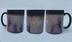 The Walking Dead mugs Daryl Dixon mugs morphing coffee mugs zombie mug novelty heat changing color reveal transforming Tea
