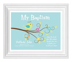 Christening Gift Baptism Gift Baby Boy by KreationsbyMarilyn, $15.00