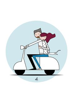 Triumph Motorcycles, Scooter Shop, Scooter Scooter, Vespa Motor Scooters, Vespa Illustration, Vespa Vintage, Vespa Ape, Binary Star, Ducati
