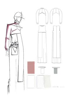 Fashion Sketchbook - fashion illustration; fashion design drawings; fashion portfolio // Aylin Karakoc
