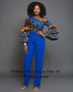 Most of us opt for Ankara Styles that present you freedom and comfort to ham it up around. Ankara styles for weekends come in many patterns and designs. It is your other to make past it comes to selecting the perfect Ankara Styles for your occassion. African Fashion Designers, African Inspired Fashion, Latest African Fashion Dresses, African Print Dresses, African Print Fashion, Africa Fashion, African Dress, Modern African Fashion, Ankara Tops