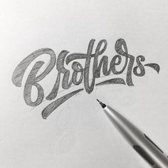 Really great loose flow in this work by @agiep - #typegang - free fonts at typegang.com | typegang.com #typegang #typography