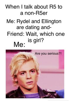 This. Is. Really. Happened. To. Me. And. I. Literally. Kill. Her  #RossLynch #Ross #R5 #R5er #R5Family