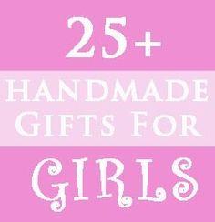 25 Homemade gift for girls for-the-kids