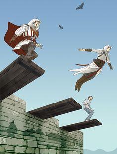 Leap of Faith by doubleleaf.deviantart.com on @deviantART