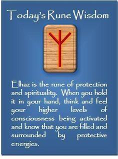 ☆ Today's Rune Wisdom -:¦✪¦:- Elhaz ☆
