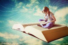 Books will take you flying by jeminafredriika on @DeviantArt