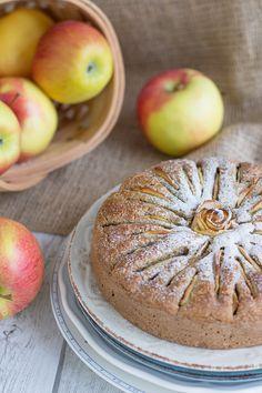 Torta di Mele Vegan & Senza Glutine, senza zuccheri raffinati