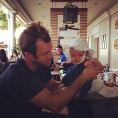 ♥♥♥  Too cute!  Scott Caan  - ericgetpaid's photo on Instagram