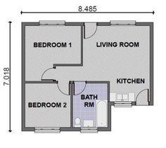Designs Realizing Bedroom House Plans Modern Two Plan Chennai Design