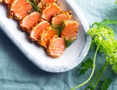 Christmas Cooking, Salmon, Brunch, Foods, Ethnic Recipes, Food Food, Christmas Kitchen, Food Items, Atlantic Salmon