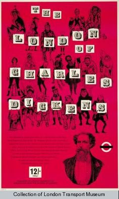 The London of Charles Dickens, by Peter Roberson, 1970, Published by London Transport, 1970