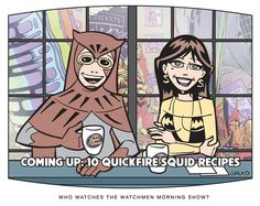 """The Watchmen Morning Show    """"Wake Up with Daniel and Laurie!"""""""