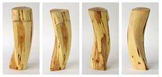 Busto, madera de Enebro.  Autor: Luis Clúa