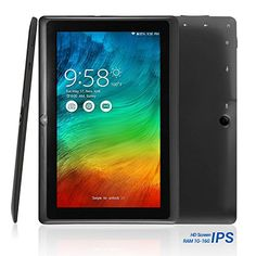 nice NPOLE Tablet 16GB 1GB IPS 7 Inch Android Quad Core CPU Dual Camera HD Video 3D Game Supported Black