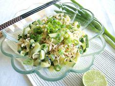 Noodle cucumber salad