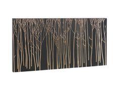 Carve veggdekorasjon i utskjært tre. Finnes i flere varianter. 100x50cm. Kr. 915,-