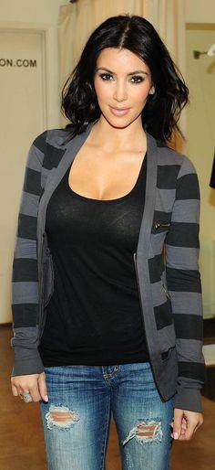 Fall Outfit - Kim Kardashian Style / Women´s Fashion Style / Moda Feminina Estilo Inspiração