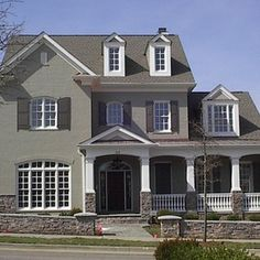 1000 images about painted brick exterior on pinterest painted bricks exterior paint colors - Painting brickwork exterior ideas ...