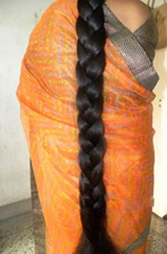 Beautiful long braids | indian braided hair | Flickr